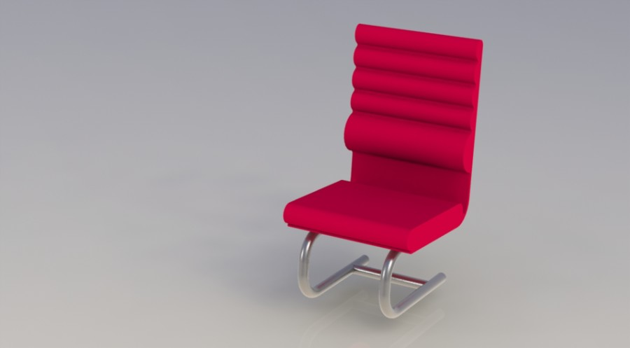 Framboise chaise de travail par laurent marcoux for Chaise ergonomique